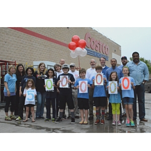 Second Helpings Atlanta celebrates its 5 millionth pound of rescued food with Costco, Pace Academy and Hope House.